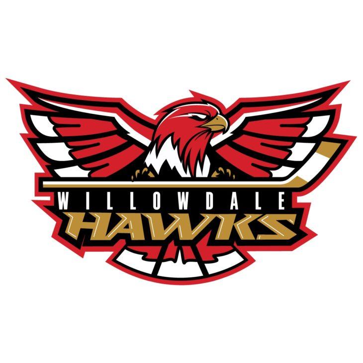 WillowdaleHawks_MainLogo